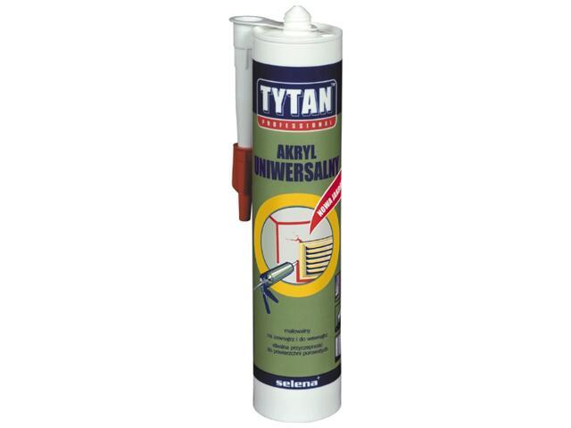 Akryl uniwersalny brązowy 310ml Tytan