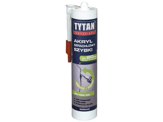 Akryl szpachlowy biały 310ml Tytan