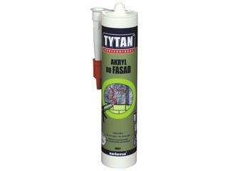 Akryl do użytku zewnętrznego fasadowy biały 310ml Tytan