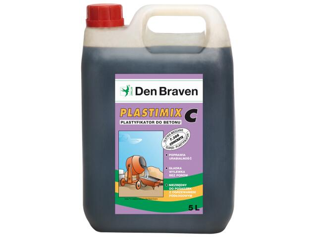 Plastyfikator do betonu 5l Den Braven
