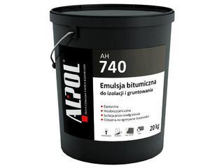 Masa bitumiczna do izolacji i gruntowania AH740 20kg Alpol