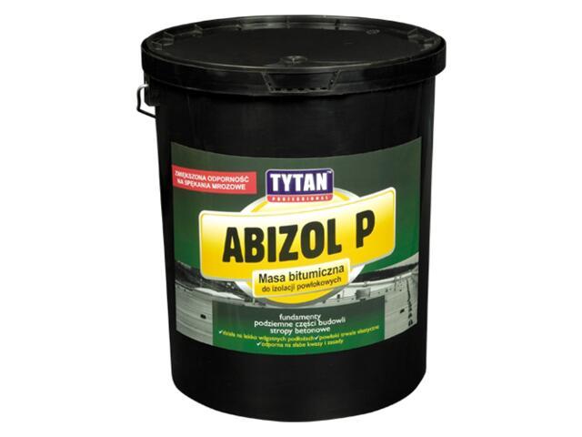 Masa bitumiczna Abizol P 9kg Tytan