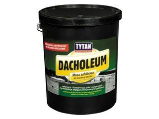 Masa asfaltowa Dacholeum do renowacji dachów 18kg Tytan