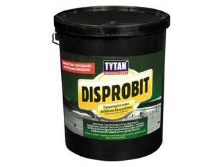 Masa asfaltowa Disprobit asfasltowo-kauczukowa 10kg Tytan