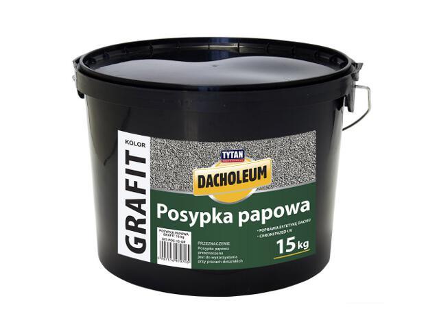 Masa asfaltowa posypka papowa grafit 15 kg Tytan