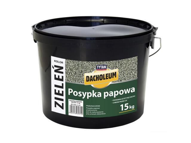 Masa asfaltowa posypka papowa zieleń 15 kg Tytan