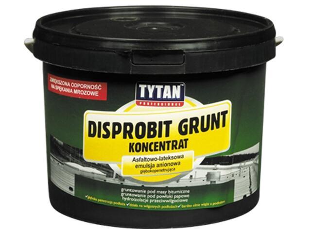 Grunt bitumiczny Disprobit asfaltowo-lateksowy koncentrat 3kg Tytan