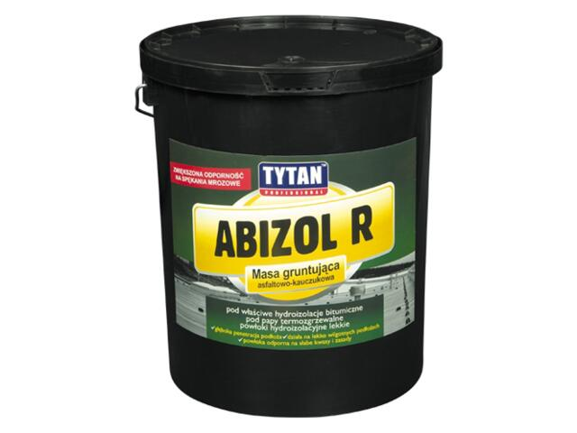 Grunt bitumiczny Abizol R 4,5kg Tytan