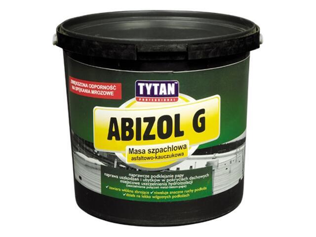 Masa szpachlowa asfaltowo-kauczukowa Abizol G 1kg Tytan