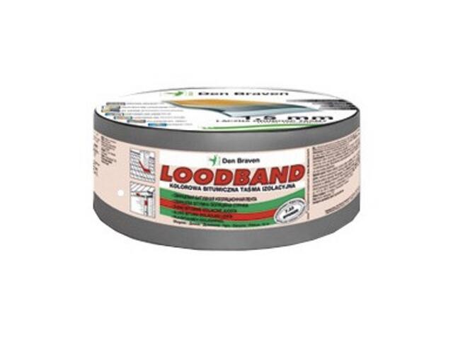 Taśma uszczelniająca Loodband szary 150mmx10m Den Braven