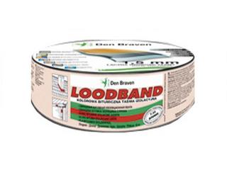 Taśma uszczelniająca Loodband czerwony 150mmx10m Den Braven