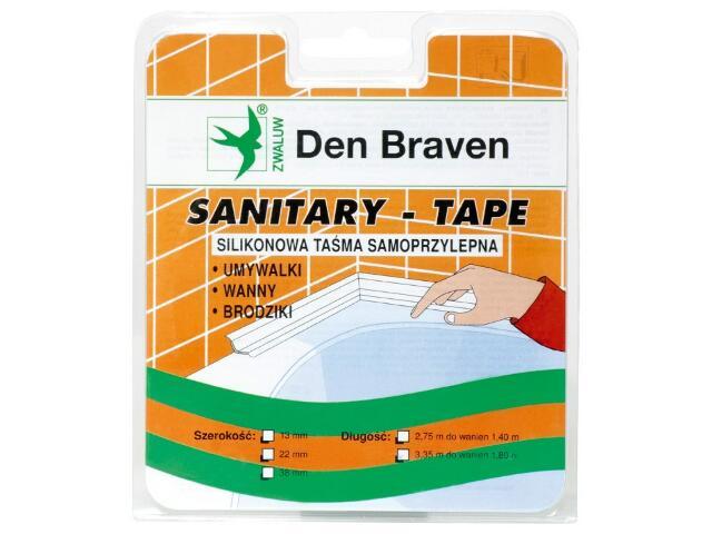 Taśma uszczelniająca Spectrum-Tape biała 13mm/2,75m Den Braven