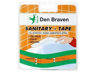 Taśma uszczelniająca Spectrum-Tape biała 22mm/2,75m Den Braven
