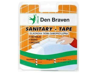 Taśma uszczelniająca Spectrum-Tape biała 13mm/3,35m Den Braven