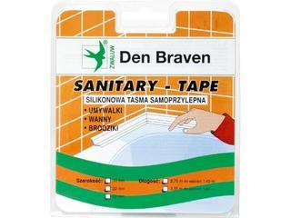 Taśma uszczelniająca Spectrum-Tape biała 22mm/3,35m Den Braven