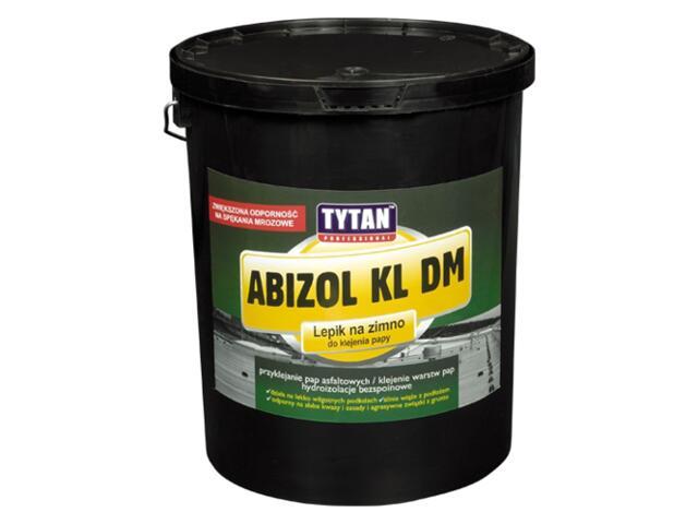 Lepik na zimno KL DM Abizol (do klejenia papy) 18kg Tytan