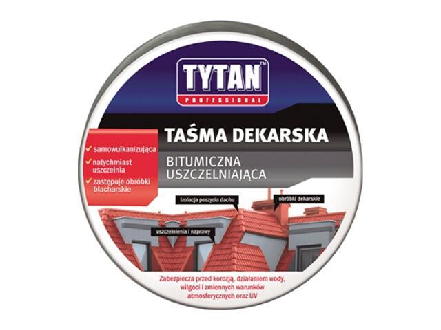 Taśma dekarska czerwona 100mmx10m Tytan