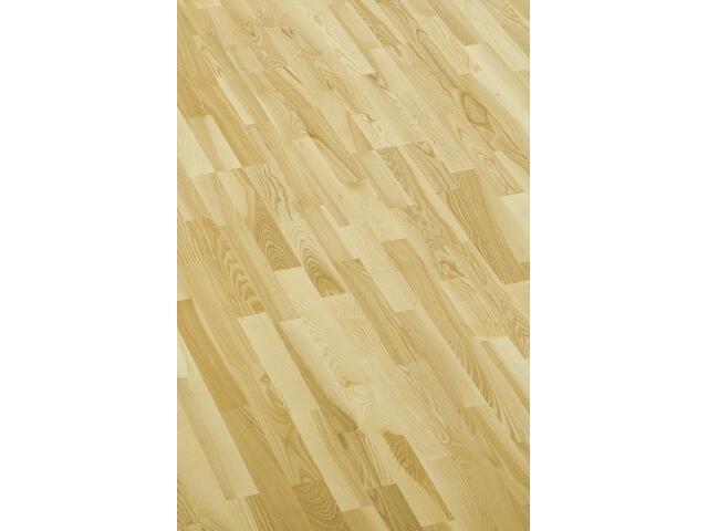Deska Barlinecka jesion family Professional lakier inwestycyjny 3-lamelowa