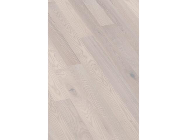 Deska Barlinecka jesion natur Exclusive lakier matowy biały 2 1-lamelowa