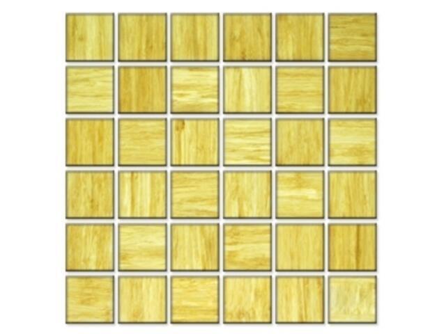 Mozaika bambusowa 5x5cm kolor honey A-BM5X5-R0-XXX Exclusive*Design