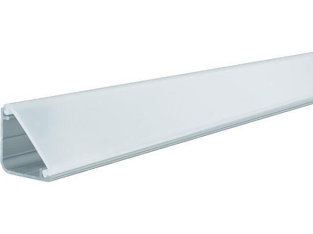 Zestaw Delta Profil - profil + osłona aluminium/satyna 2m Paulmann