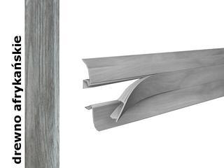 Listwa przypodłogowa Smart PVC drewno afrykańskie 545 dł. 2,5m Vox