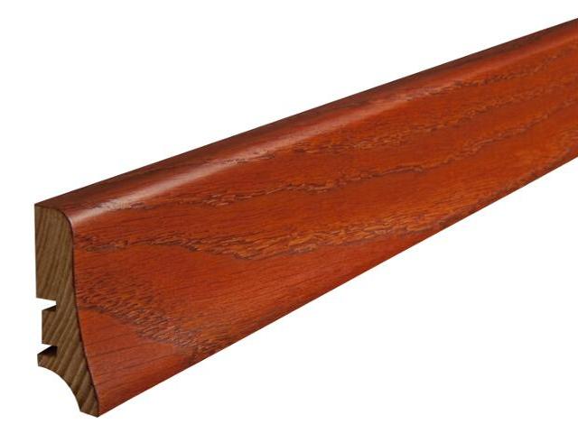 Listwa przypodłogowa padouk P20 lakier standard wys.58 mm Barlinek