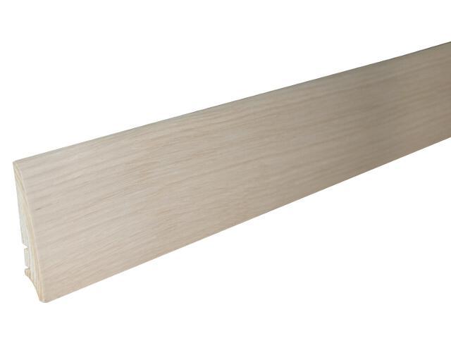 Listwa przypodłogowa dąb P30 lakier B5 wys.78 mm Barlinek