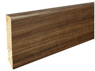 Listwa przypodłogowa orzech P61 lakier standard wys.90 mm Barlinek