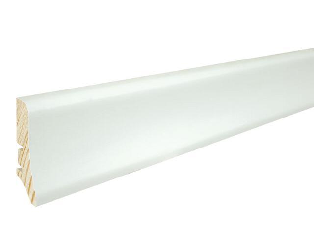 Listwa przypodłogowa P20 biała malowana wys. 58 mm Barlinek