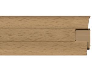 Listwa przypodłogowa 54 PVC buk n2 F1 dł. 2,5m A-PLCOX-F1-250 Prexa