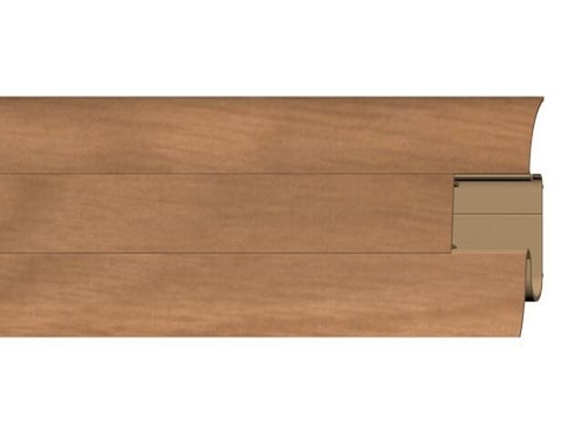 Listwa przypodłogowa 54 PVC olcha n1 F4 dł. 2,5m A-PLCOX-F4-250 Prexa