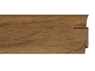 Listwa przypodłogowa 54 PVC kasztan n1 F5 dł. 2,5m A-PLCOX-F5-250 Prexa