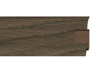 Listwa przypodłogowa 54 PVC orzech n1 F7 dł. 2,5m A-PLCOX-F7-250 Prexa