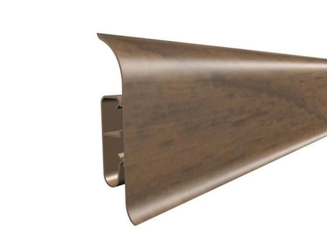 Listwa przypodłogowa 82 PVC kasztan F5 dł. 2,5m A-8LCOX-F5-250 Prexa