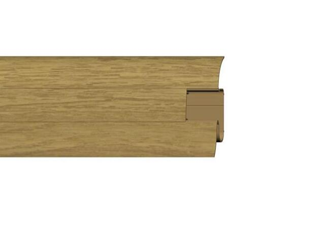 Listwa przypodłogowa 54 PVC dąb n4 G3 dł. 2,5m A-PLCOX-G3-250 Prexa