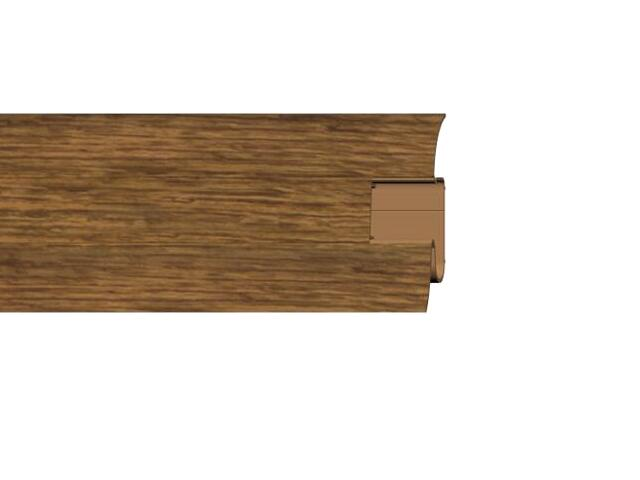 Listwa przypodłogowa 54 PVC dąb n5 G5 dł. 2,5m A-PLCOX-G5-250 Prexa