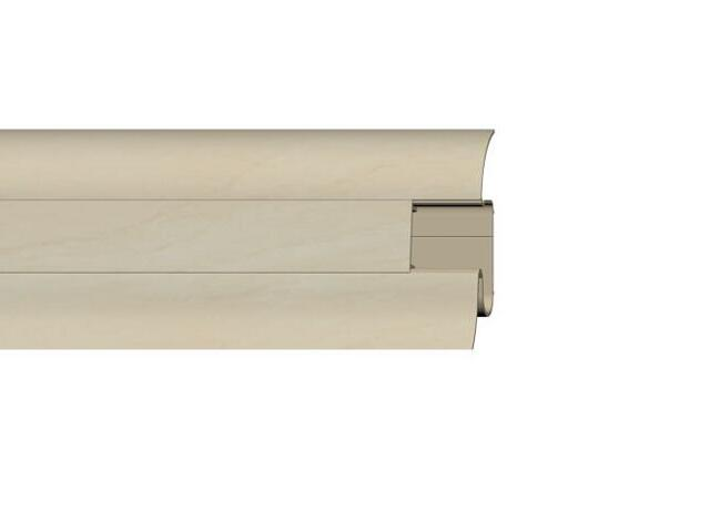 Listwa przypodłogowa 54 PVC klon n1 G6 dł. 2,5m A-PLCOX-G6-250 Prexa