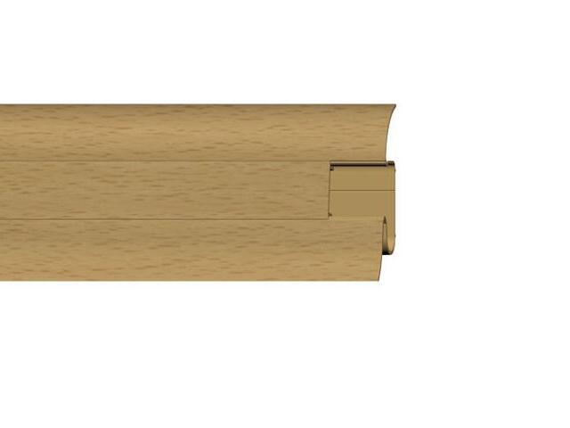 Listwa przypodłogowa 54 PVC buk n3 G7 dł. 2,5m A-PLCOX-G7-250 Prexa