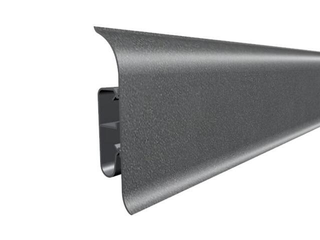 Listwa przypodłogowa 82 PVC metalic 55 dł. 2,5m A-8LCOX-55-250 Prexa