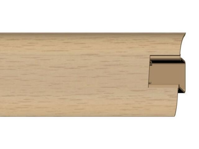 Listwa przypodłogowa 44 PVC buk F0 dł. 2,5m A-4LCOX-F0-250 Prexa