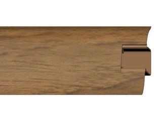 Listwa przypodłogowa 44 PVC kasztan F5 dł. 2,5m A-4LCOX-F5-250 Prexa