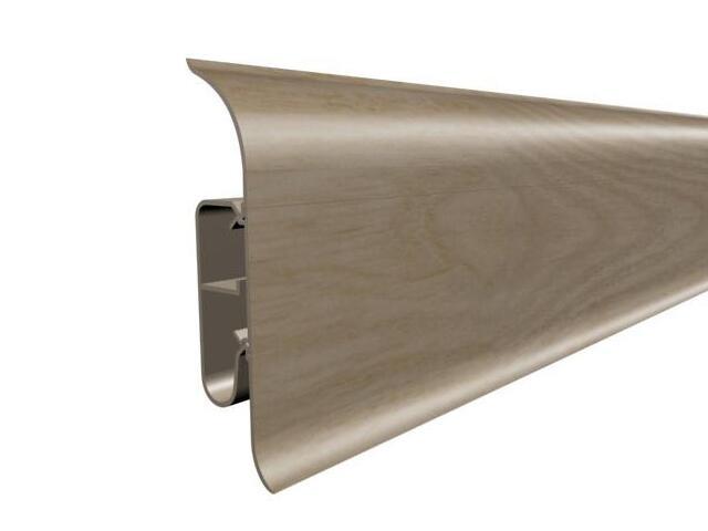 Listwa przypodłogowa 82 PVC dąb G0 dł. 2,5m A-8LCOX-G0-250 Prexa