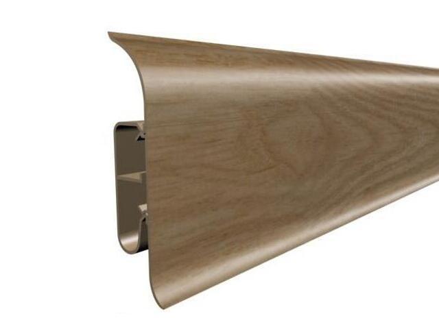Listwa przypodłogowa 82 PVC dąb G3 dł. 2,5m A-8LCOX-G3-250 Prexa