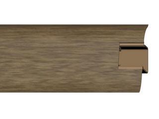 Listwa przypodłogowa 44 PVC orzech H1 dł. 2,5m A-4LCOX-H1-250 Prexa