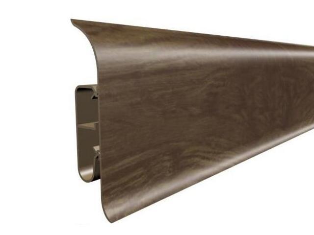Listwa przypodłogowa 82 PVC dąb K0 dł 2,5m A-8LCOX-K0-250 Prexa