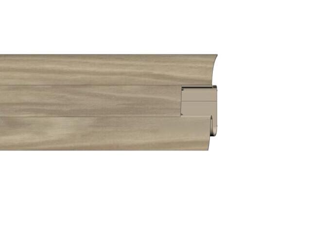 Listwa przypodłogowa 54 PVC hicora n1 H8 dł 2,5m A-PLCOX-H8-250 Prexa