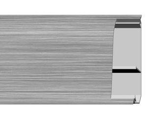 Listwa przypodłogowa 54Z silver A0 dł 2,5m A-5ZLCO-A0-250 Aspro