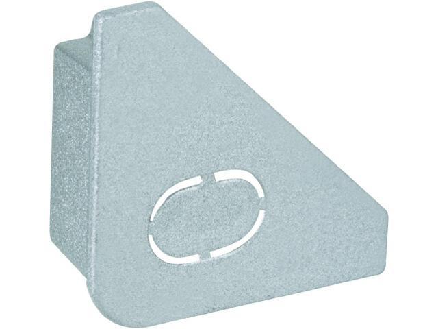 Zakończenie Delta Profil aluminium/satyna 2 szt Paulmann