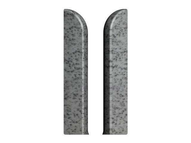 Zakończenie L+P 76 szary J4 A-7ZAK0-J4-000 kpl. 2szt. Prexa